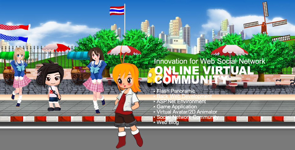Innovation for Web Social Network ONLINE VIRTURAL COMMUNITY